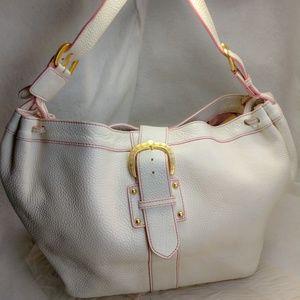 Authentic white Dooney Bourke purse handbag